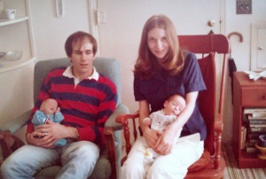 Bob, Trina, Jon, and Rob, March? 1975
