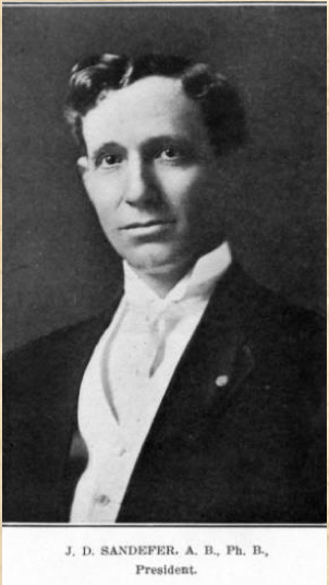 J. D. Sandefer, President