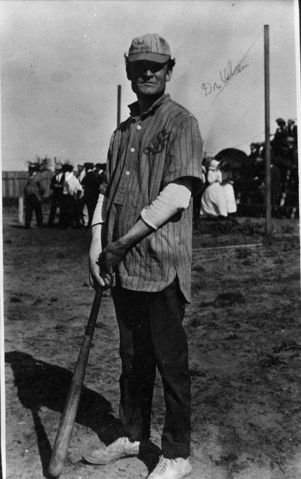 Dr. Julius Olsen: Hardin-Simmons Faculty Baseball Game