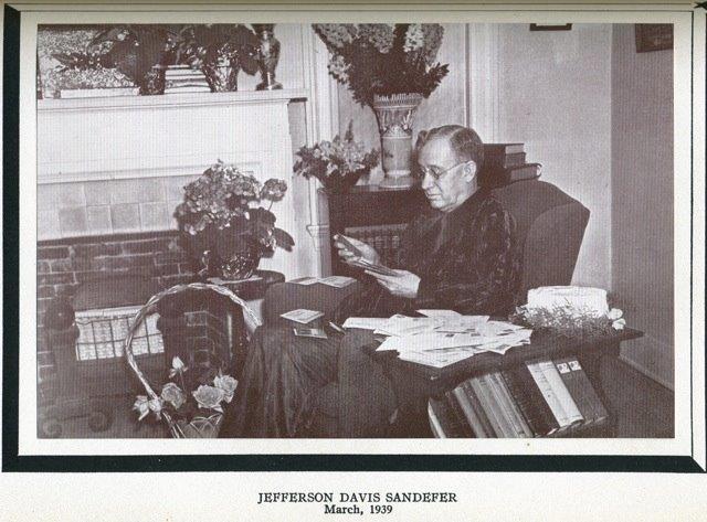 J. D. Sandefer 1939