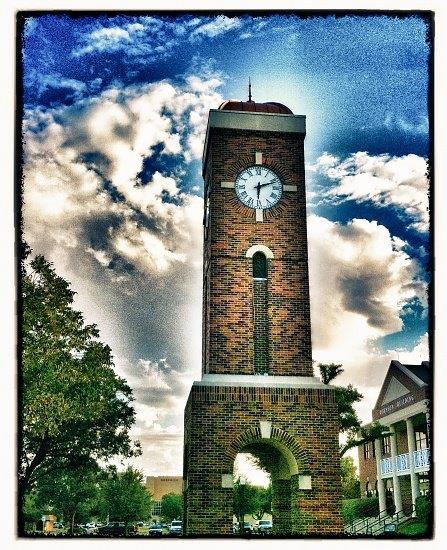Susan Pigott hardin-simmons clock tower HDRed